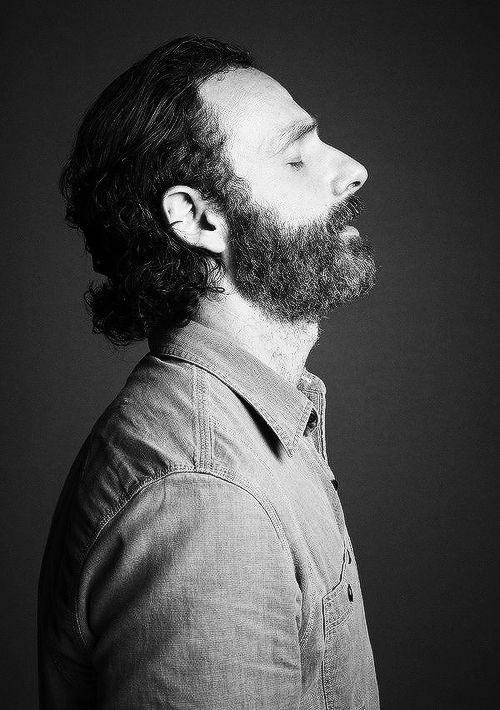 Andrew Lincoln. Beautifully simple photo.