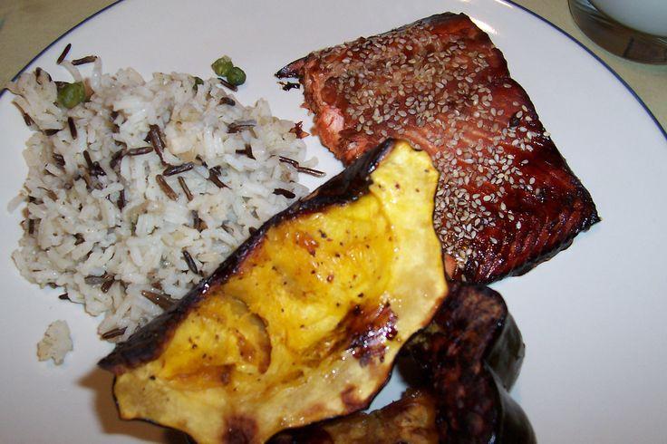 Soy-Glazed Salmon | Seafood | Pinterest