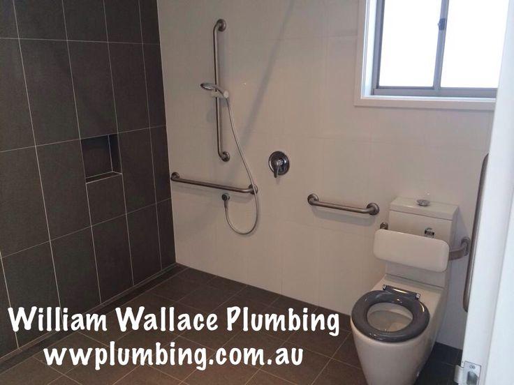 Accessible bathroom installation