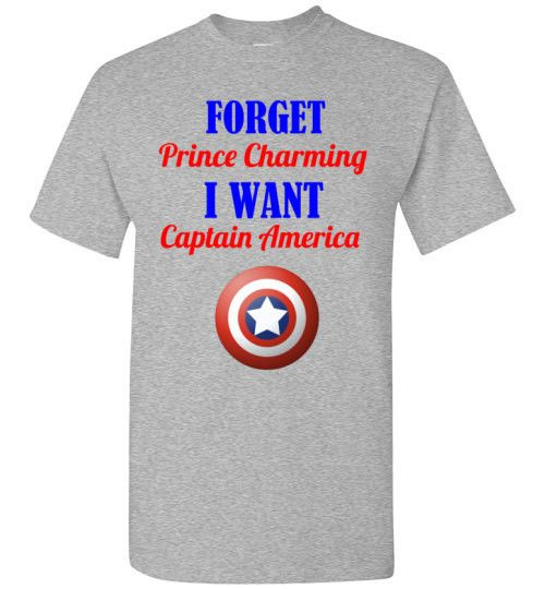Forget Prince Charming I Want Captain America