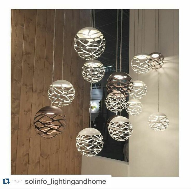 Kelly Cluster reposted from Solinfo_lightingandhome