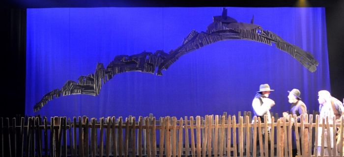 Fabricating the village for Fiddler on the Roof