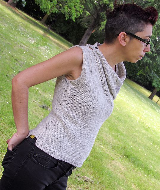 Ravelry: Ecological Top Tank pattern by Ela Torrente