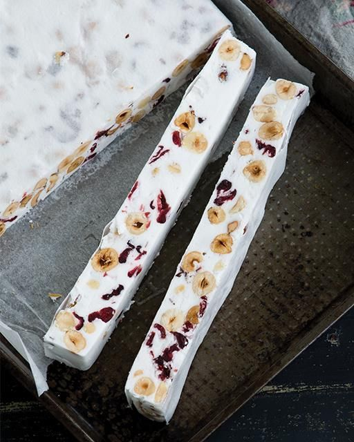 Sweet Paul | Hazelnut & Cranberry Vegan Nougat - with aquafaba