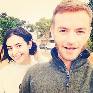 Masterson siblings. he from Malcolm in the Middle and she from The Walking Dead.