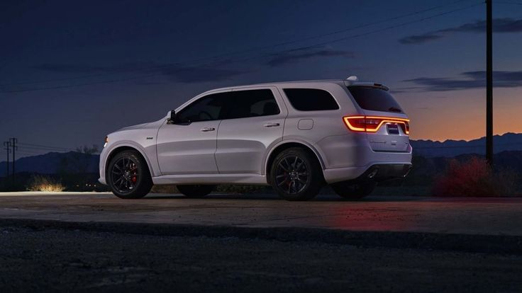 2018 Dodge Durango SRT Rear Sunset