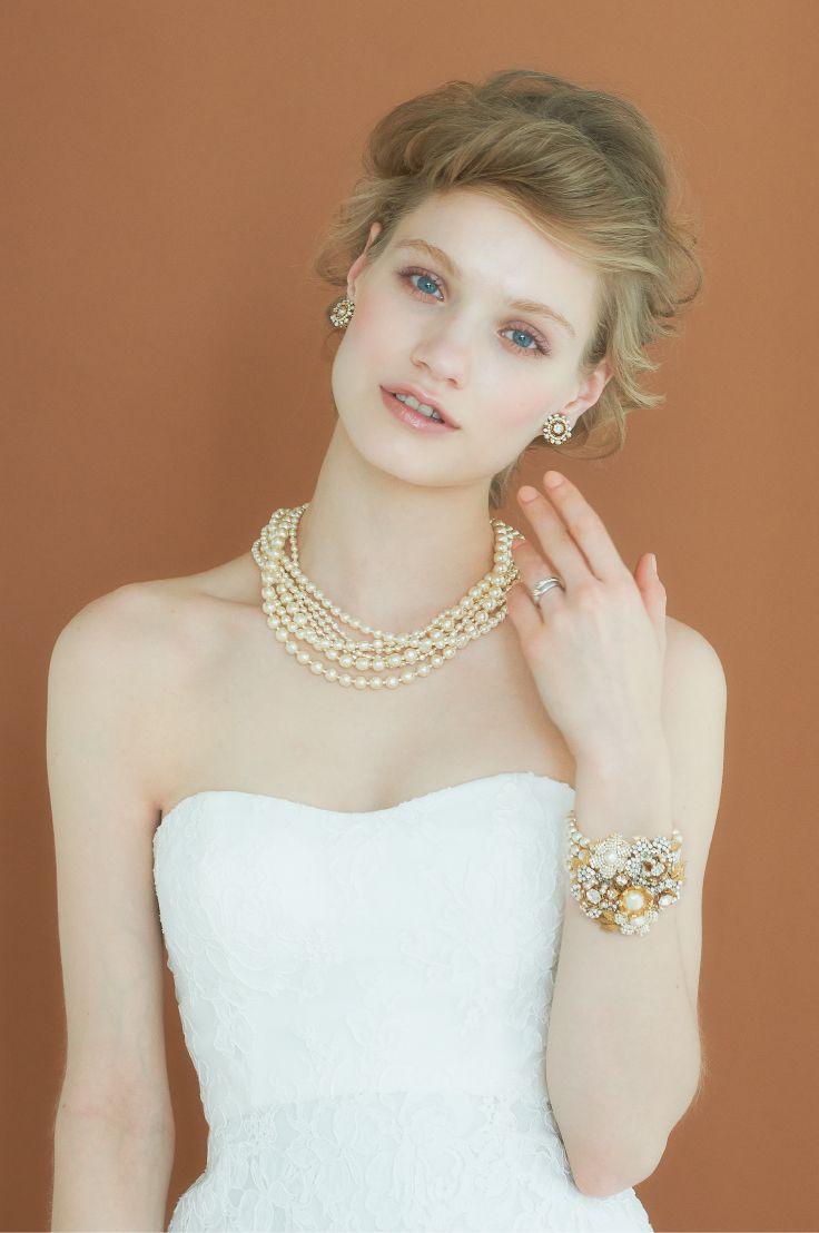 #NOVARESE #wedding #accessory #ring #earring #bracelet #styling #hair #Vintage #ノバレーゼ #ウエディング #アクセサリー #リング #イヤリング #ブレスレット#スタイリング #髪型 #dress #ドレス