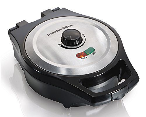 Proctor Silex 26044A Mess Free Belgian Style Waffle Maker - http://sleepychef.com/proctor-silex-26044a-mess-free-belgian-style-waffle-maker/