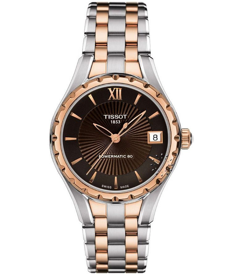 TISSOT Ladies Powermatic 80 Two Tone Stainless Steel Bracelet Η τιμή μας: 625€ http://www.oroloi.gr/product_info.php?products_id=36527