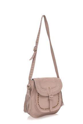 La Bonita. Handmade black leather messenger bag – ELF