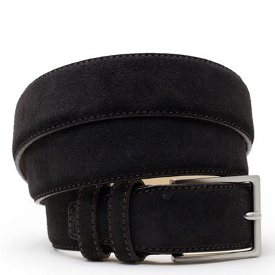 Suede riem: Black Tulip by ColorMeSocks™