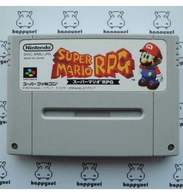 http://happyxel.fr/PrestaShop/en/games-loose/314-super-mario-rpg-loose-super-famicom.html #SuperFamicom #Nintendo #retrogaming #retrogame #Mario #RPG