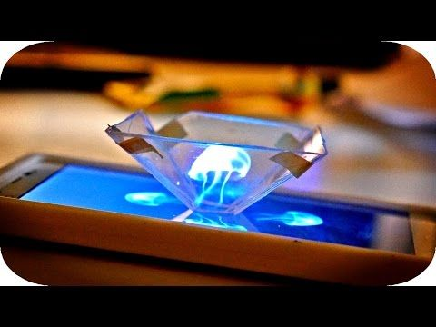 Turn your Smartphone into a 3D Holograms Projector - Arch2O.com