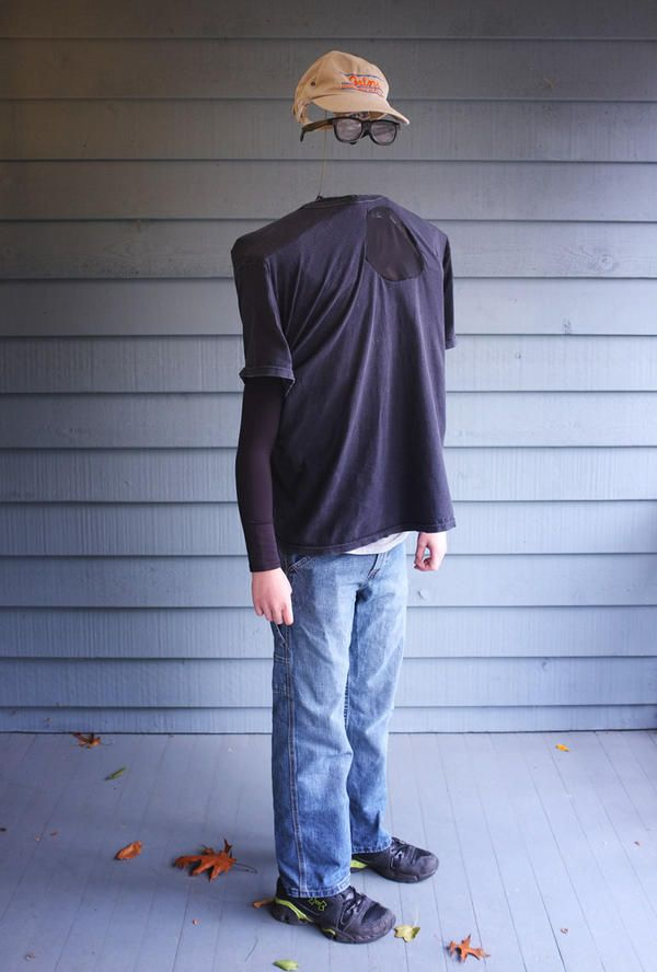 Invisible man costume DIY