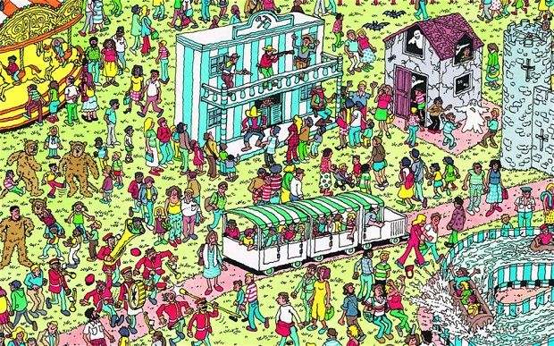 """The popular red-and-white-striped children's figure of """"Where's Wally?"""" fame turns 25 today, as fans celebrate quarter of a century since his creation."""