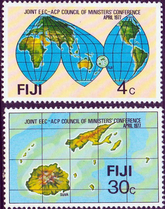 Postage Stamps Fiji 1977 Hibiscus Festival Fine Mint SG 583 Scott 378 Other Fijian Stamps HERE