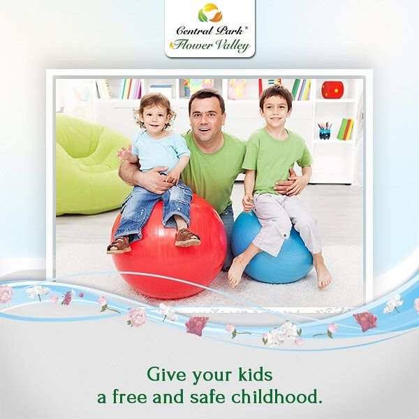 Central Park Fleur Villas are luxurious and spacious residences which will allow your kids to enjoy a safe and free childhood just like you did. #CentralParkFlowerValley  To know more call : 1800 103 6660.