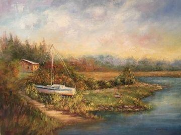 Season's End by Lisa Price Oil ~ 12 x 16