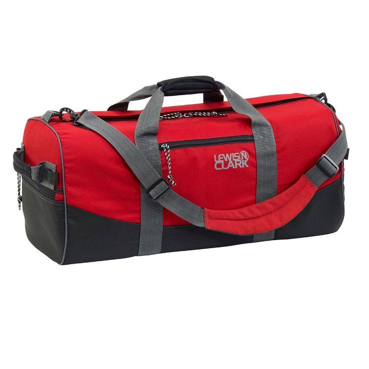 Lewis N Clark Duffel Bag 12in x 24in Red