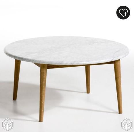 Table basse AMPM en marbre