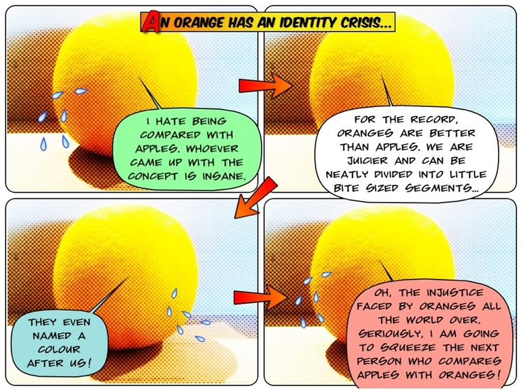 The first installment - an Orange with an identity crisis