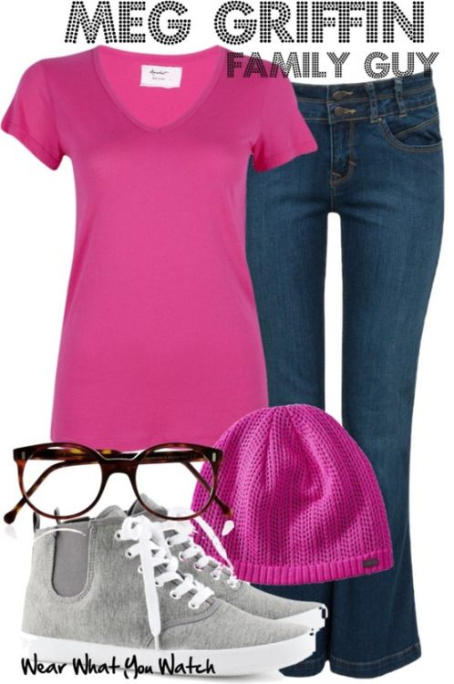 """Wear What You Watch • Mila Kunis (voice) as Meg Griffin on """"Family Guy""""..."""