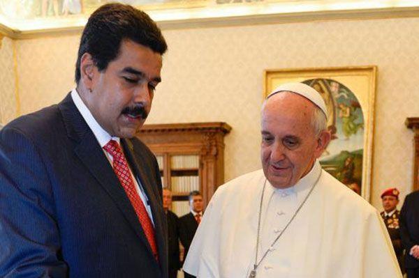 Maduro envió carta al Papa Francisco denunciando participación de niños en actos violentos | Foto: Agencias