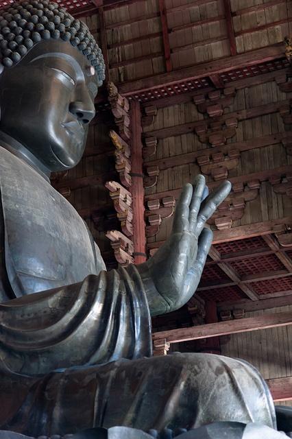 Bouddha géant Temple Todai-ji #japan #nara