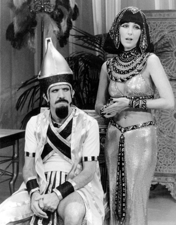 Bare navels were taboo on TV once upon a time. One of the first to break that taboo was Cher, on The Sonny and Cher Comedy Hour in the early 70s.--Taboo TV: 8 revolutionary firsts in American television