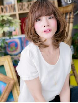 カバーヘア ブリス 戸田公園店(COVER HAIR bliss)*+COVER HAIR+*…ダイアモンドフォルムで上品スイートa