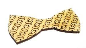 Деревянные галстуки-бабочки