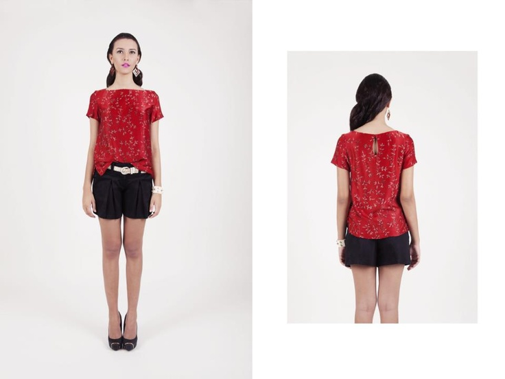 Mondean Top from Global Nomad Collection by Namayinda