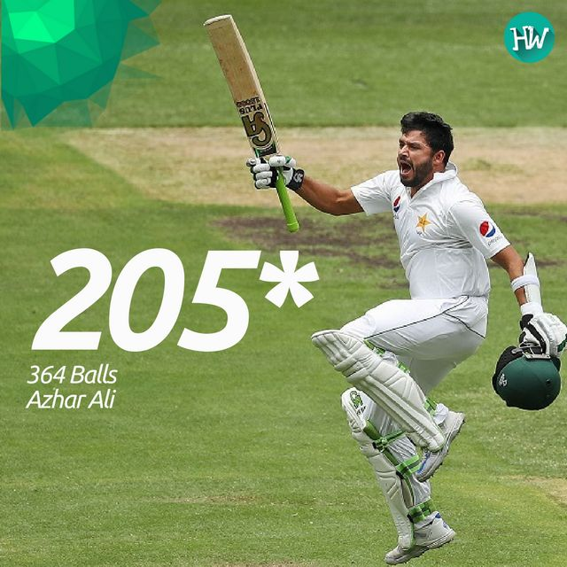 This double-century from AzharAli is the highest score by a Pakistani cricketer in AUS and it has put the tourists well in front. #AUSvPAK #azharali #PAK