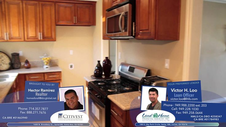 Check out this Virtual Tour Video to see this new gorgeous property listed by Hector Ramirez from Citivest Realty in Santa Ana, California. Gorgeous home!  NMLS #1015338. CA-DBO #603K174 (916-324-6624). CA-BRE #00988341
