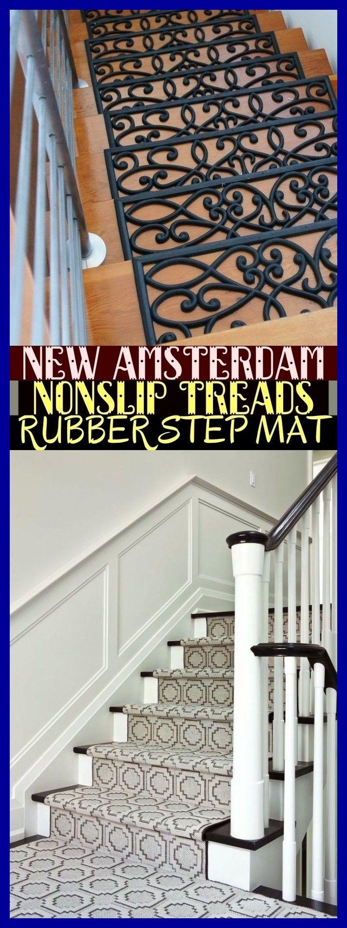 Best New Amsterdam Non Slip Treads Rubber Step Mat 640 x 480