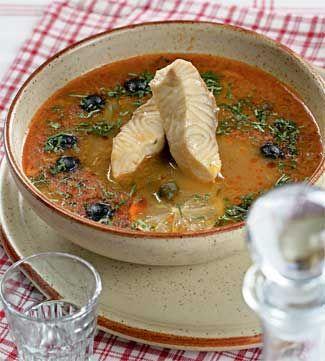 Рыбная солянка, суп. Пошаговый рецепт с фото на Gastronom.ru