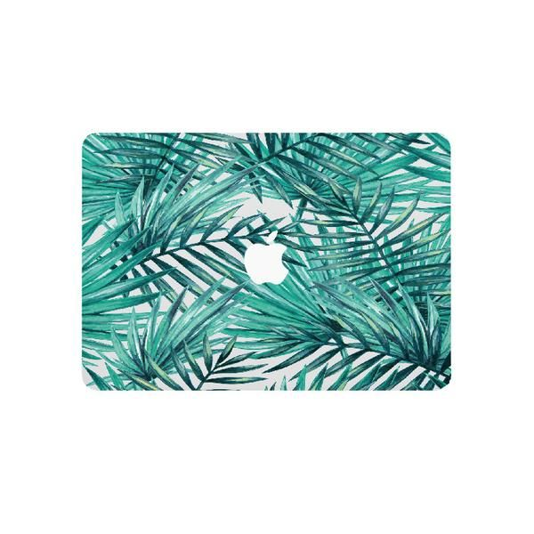 Tropical Palm Leaf Laptop Skin for Apple MacBook Pro and MacBook Air - vinyl sticker decal covers.