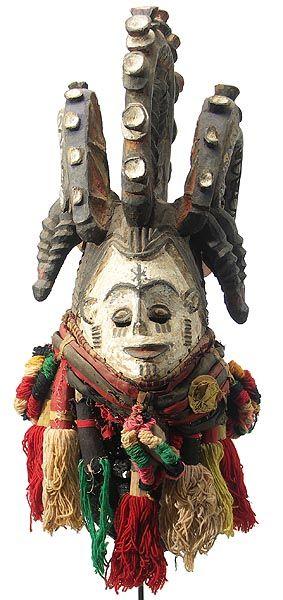 Igbo Maiden Spirit Mask, Nigeria