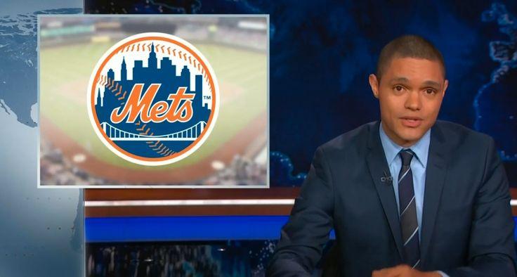 New York Mets on THE DAILY SHOW WITH TREVOR NOAH (November 2nd 2015) @metsbaseball