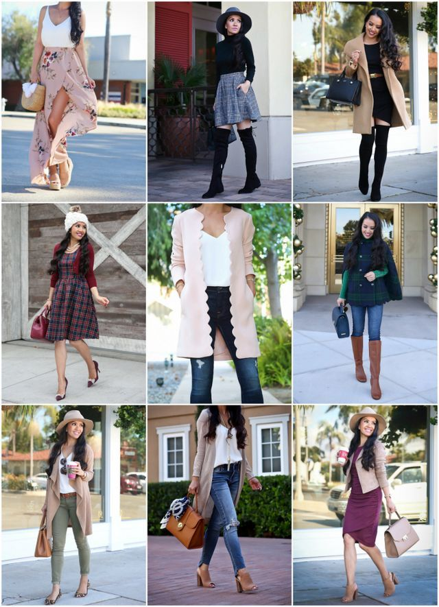 Best Outfits of 2017 | Stylish Petite | Bloglovin'