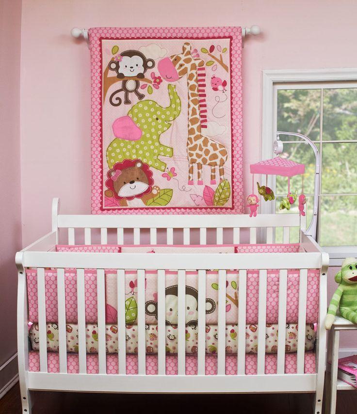 image gallery jungle crib bedding. Black Bedroom Furniture Sets. Home Design Ideas