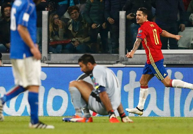 ITALY 1-1 SPAIN HIGHLIGHTS - WORLD CUP QUALIFICATION - 06-10-2016 - SOCCER HIGHLIGHTS