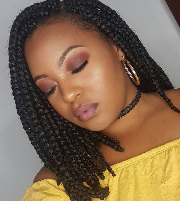 awesome 25 Timeless Short Box Braids Ideas – Protecting Your Hair Stylishly With Box Braids