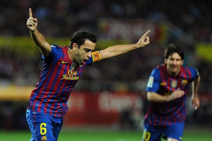 Los dos mejores futbolistas del planeta.