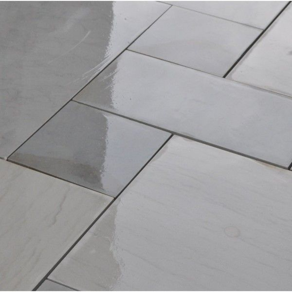 Kandla Grey Indian Sandstone Honed & Sawn Calibrated Patio Paving Slabs Pack 20m2 600x900 22mm