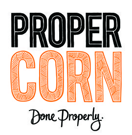 Propercorn || Propercorn is the original gourmet popcorn brand. Our hand popped butterfly corn is delicately tumbled with our secret recipes using only the most authentic, delicious ingredients.