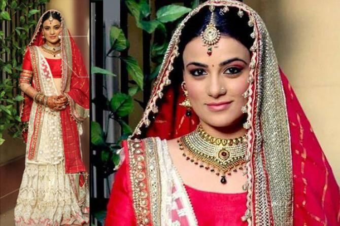 Radhika Madan Popular Indian Television Actresses And Their Bridal Looks In Their Shows