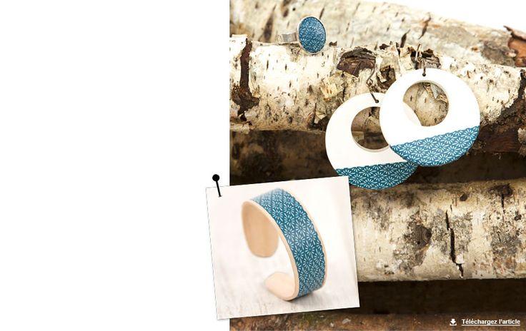 Customisez vos bijoux à l'infini avec du ruban adhésif ! Repositionnables et faciles à coller, choisissez les rouleaux de votre choix pour redonner une seconde vie à vos boucles d'oreilles, bagues, bracelets…