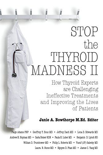 Stop the Thyroid Madness II: How Thyroid Experts Are Challenging Ineffective Treatments and Improving the Lives of Patients by Andrew Heyman http://www.amazon.com/dp/0985615435/ref=cm_sw_r_pi_dp_FWUlub12N30QW