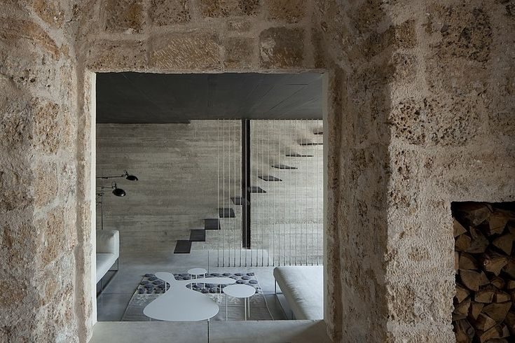 300-Year-Old House Transformed in a Wonderful Modern Mansion in Israel by Pitsou Kedem Architects